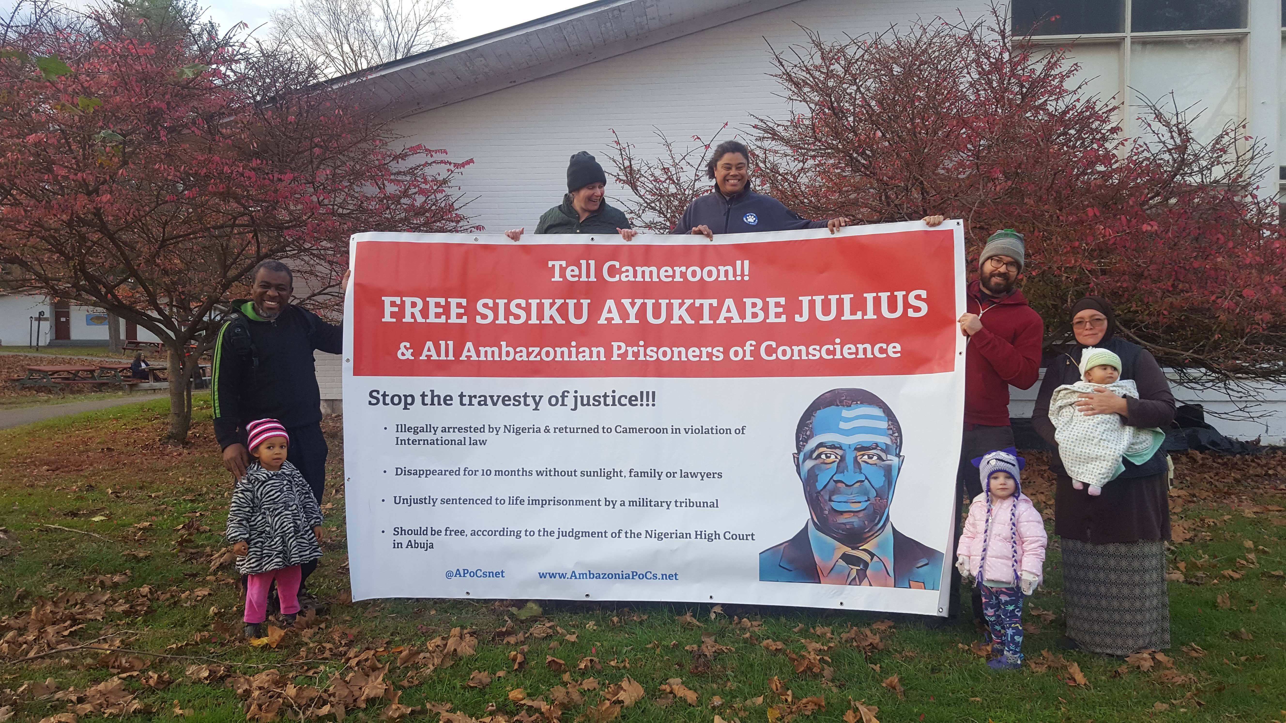 Free All Ambazonia Prisoners Of Conscience NOW!
